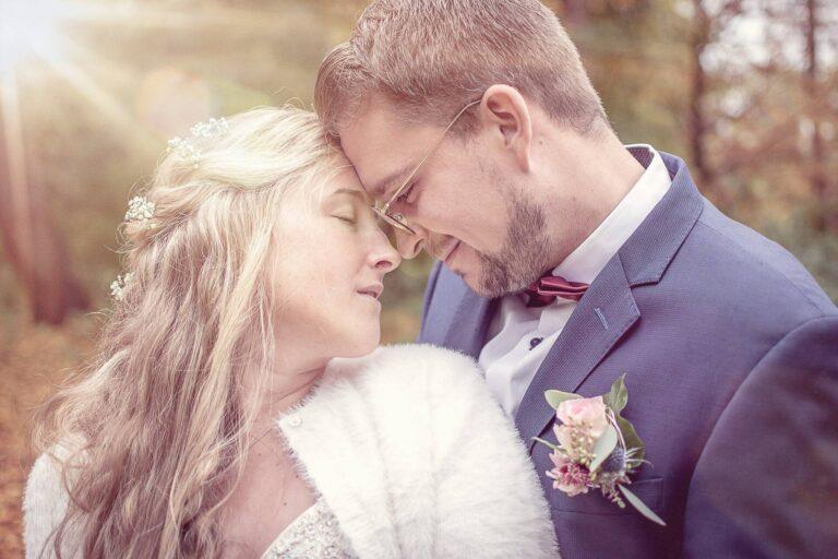Brautpaarshooting bei einer Trauung in Warendorf fotografiert von Siebenschön Photography
