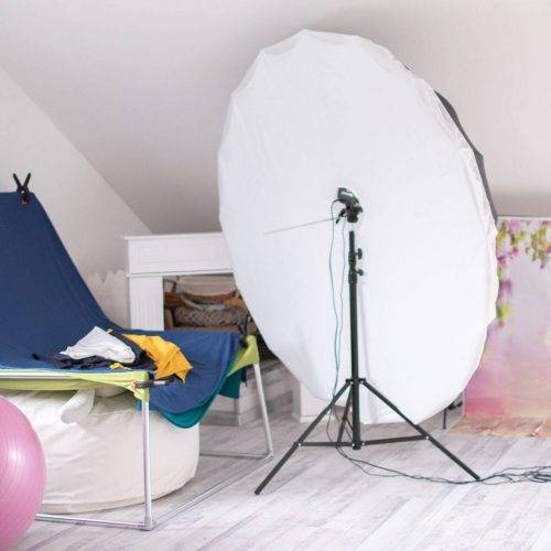 Professionelle Ausrüstung für die perfekten Neugeborenenfotos im Studio Siebenschön Photography in der Nähe von Oelde
