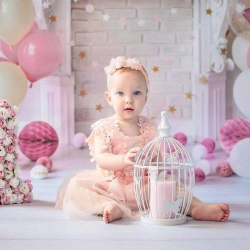 Geburtstagsshooting einer kleinen Prinzessin im Studio von SIebenschön Photography in Beckum