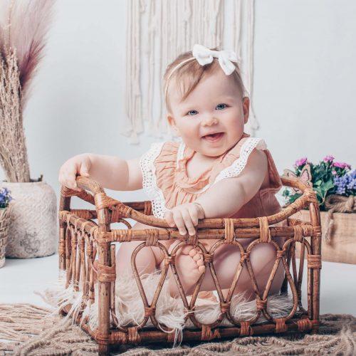 Baby Fotoshooting - Boho Shooting bei Siebenschön Photography in Ahlen