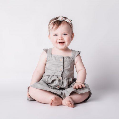 Schlichte Kinderfotografie - Babyfotoshooting bei Siebenschön Photography in Hamm