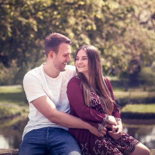 Paarfotografie - Verliebte fotografiert von Siebenschön in Ahlen
