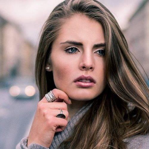 Beautyfotografie einer jungen Frau fotografiert von Siebenschön Photography in der Nähe von Rheda-Wiedenbrück