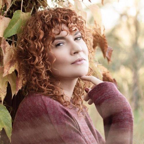Portrait der Saengerin Isabel Nolte aus Oelde fotografiert von Siebenschön Photography