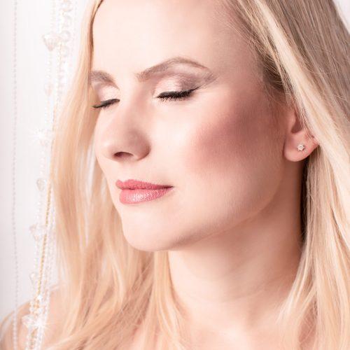 Make Up durch Visagistin Georgia Zikou bei Siebenschön Photography in Oelde